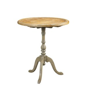 French Accents Round End Table by French Her..
