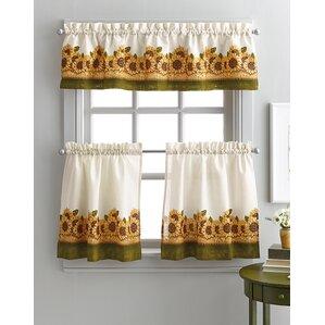 Yellow Gold Valances Kitchen Curtains You Ll Love Wayfair