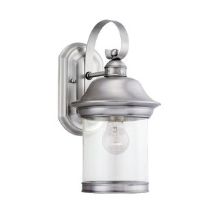Brettany 1-Light Outdoor Sconce By Bloomsbury Market Outdoor Lighting