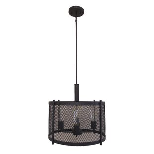 Glen 4-Light Chandelier by Whitfield Lighting