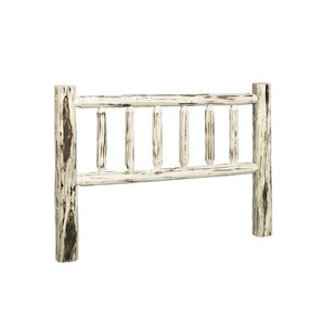 Abordale Log Slat Headboard by Loon Peak