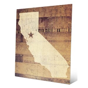 'California Rustic' Graphic Art by Click Wall Art