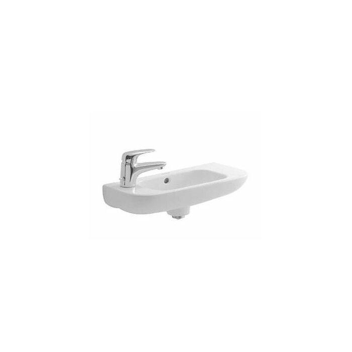 Ceramica Duravit D Code.D Code Ceramic 20 Wall Mount Bathroom Sink With Overflow