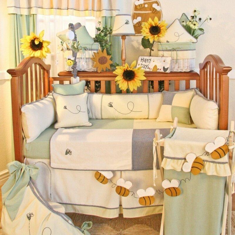 Harriet Bee Deluca 16 Piece Crib Bedding Set & Reviews ... |Deluca Comforter Set