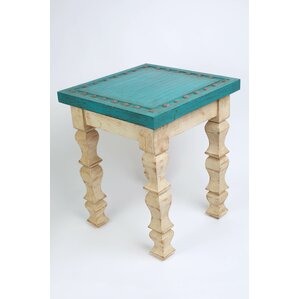 Edwin Square End Table by Bungalow Rose