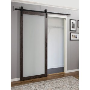 Exceptional Continental MDF Eingineered Wood 1 Panel Interior Barn Door