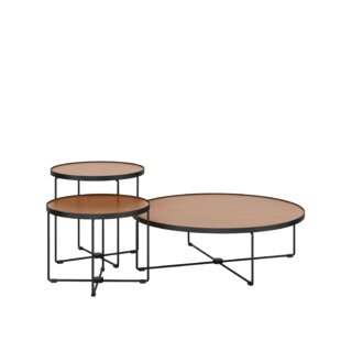 Taron Etc. Occasional Tables Cinder Set 3 (Set of 3) by National Office Furniture