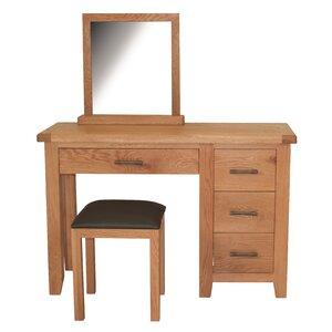 Schminktisch-Set Hadleigh mit Spiegel von Home ..
