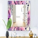 Rayne Feathered Accent Mirror Wayfair