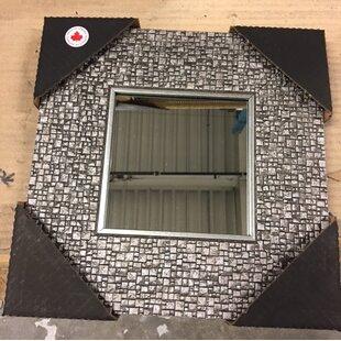 Mirrorize.ca 4 Piece Mosaic Silver Square Accent Mirror Set (Set of 4)