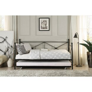Yarbrough Contemporary Daybed with Trundle