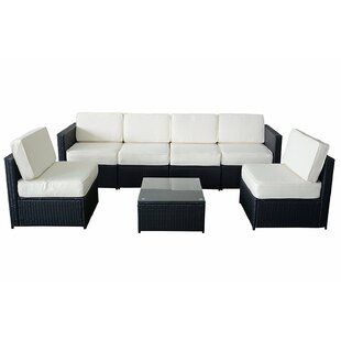 Alvin 5 Piece Sectional Set with Cushion By Ivy Bronx