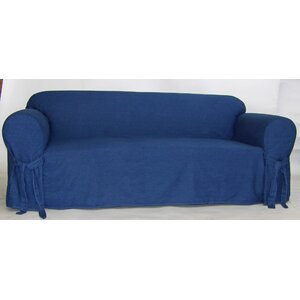 Authentic Box Cushion Sofa Slipcover by Classic Slipcovers