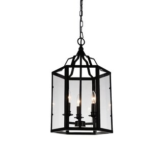 Tom 3-Light Lantern Pendant by Alcott Hill