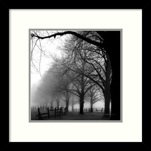 'Black and White Morning' by Harold Silverman Framed Photographic Print by Amanti Art