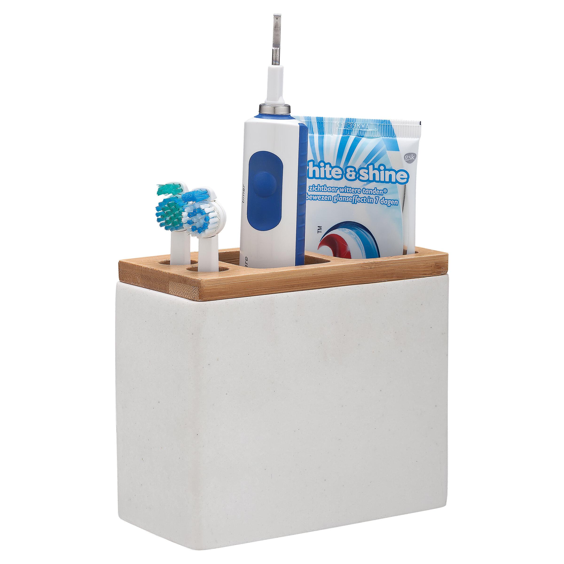 Familie Badezimmer Kunststoff Zahnbürste Zahnpasta Rasierer Halter Behälter