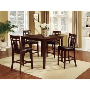 Daniels 5 Piece Pub Table Set by Darby Home Co