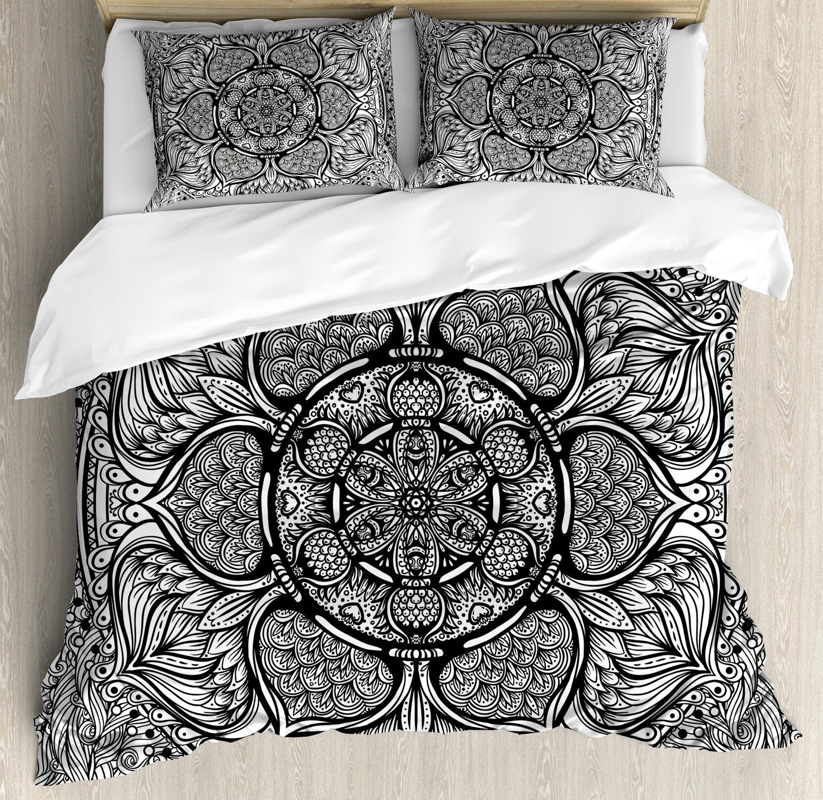 Bedding Super King Size Reversible Bedding Set Quilt Duvet Cover Mandala Indian Blanket Home Furniture Diy Mhg Co Ke