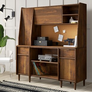 Cutrer Credenza Desk with Hutch