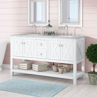 Comparison Timbrell 60 Double Bathroom Vanity Set By Lark Manor