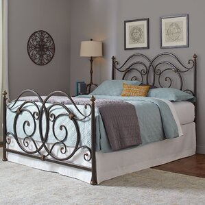 Ellenboro Open-Frame Headboard and Footboard by Red Barrel Studio