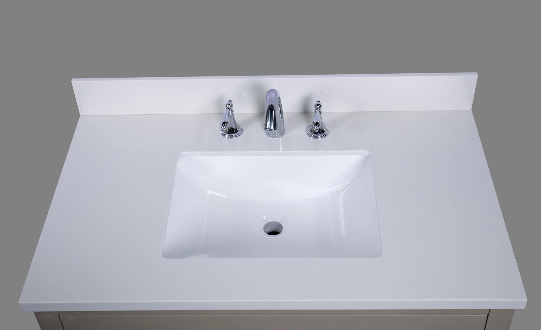 Thos 37 Single Bathroom Vanity Top