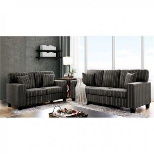 Henry 3 Piece Configurable Living Room Set by Latitude Run®