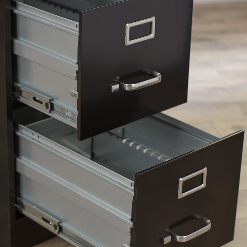 2 Drawer Commercial Letter Size File Cabinet