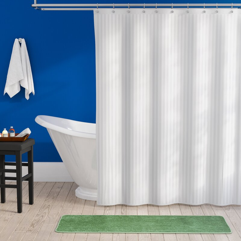 This Water Resistant Shower Curtain Liner Is Made From 100 Polyester Material The Suction Cup On Sides Keeps Your Bathroom Floor Splashes Of