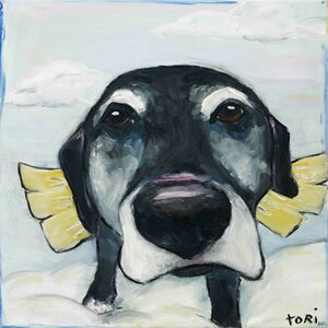'All Good Dogs' by Tori Campisi Painting Print on Wrapped Canvas by Marmont Hill