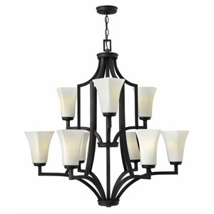 Spencer 9-Light Candle-Style Chandelier