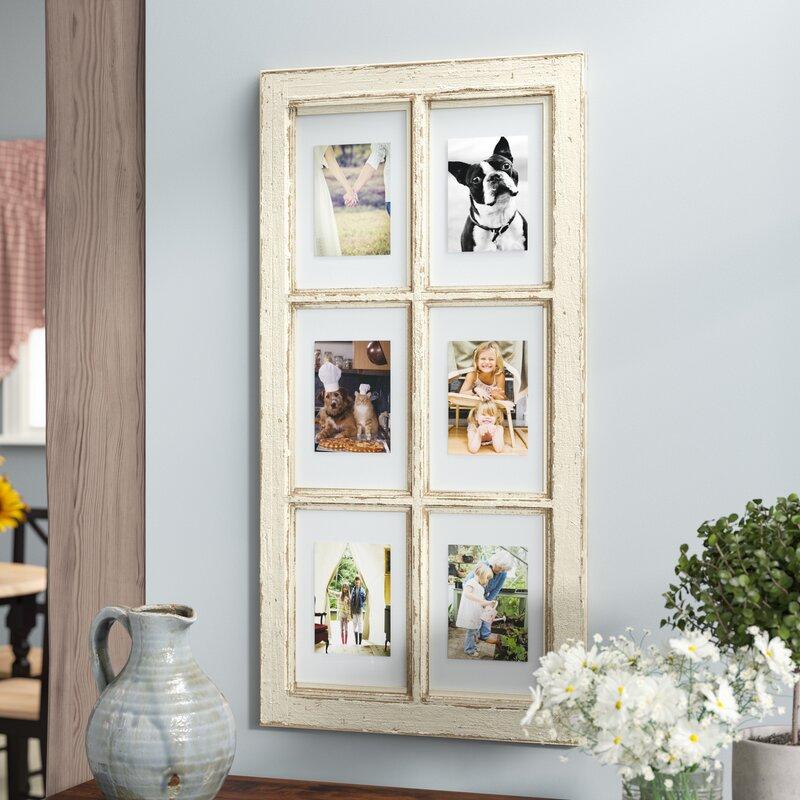 August Grove Pisano Window Pane Picture Frame & Reviews | Wayfair
