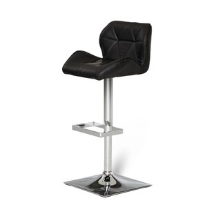 Clower Adjule Seat Height Swivel Bar Stool