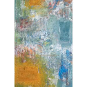 Blank Paint Tray Wall Art on Wrapped Canvas by East Urban Home