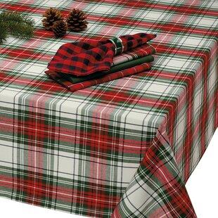 Matthew Christmas Plaid Tablecloth