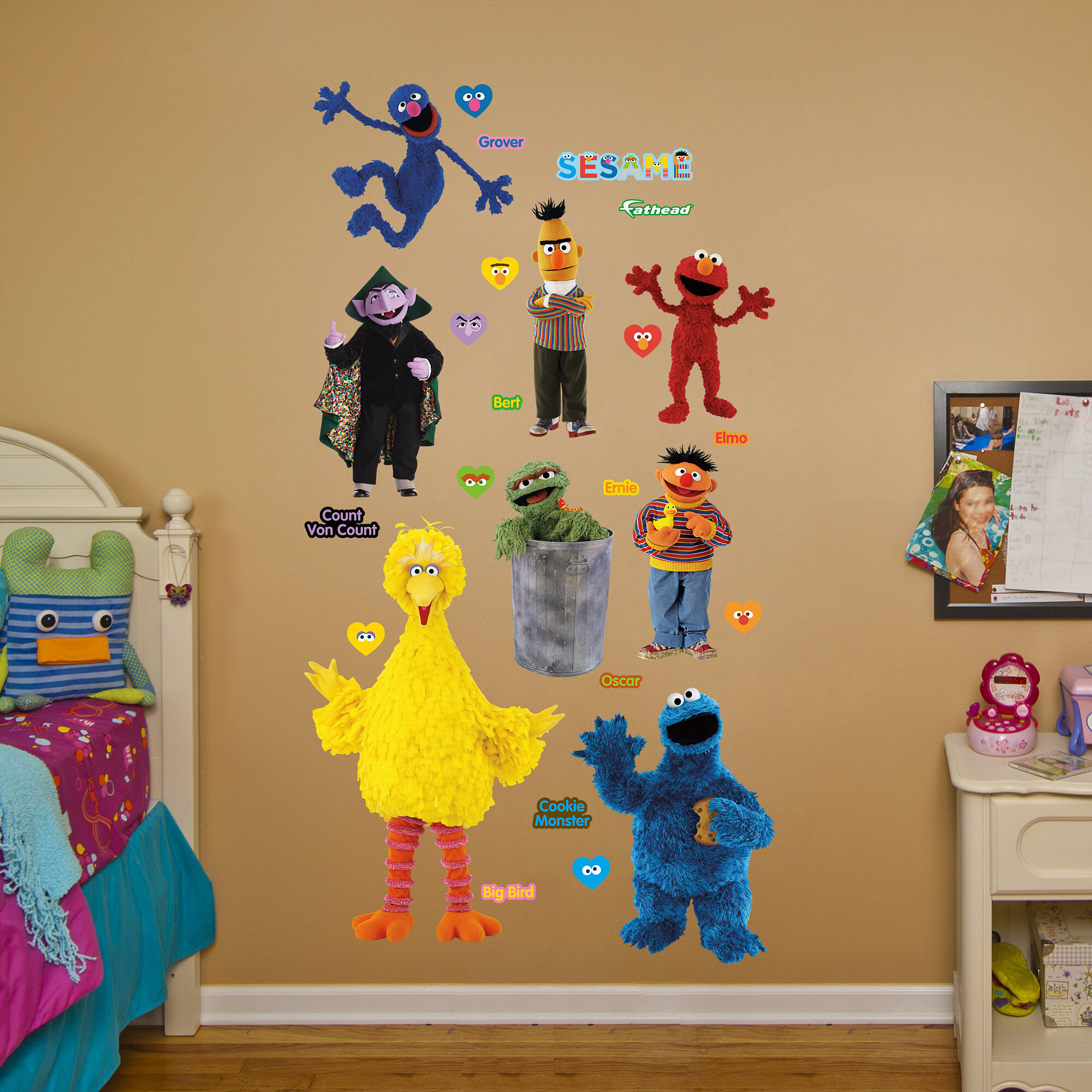 Fathead RealBig Sesame Street Wall Decal | Wayfair
