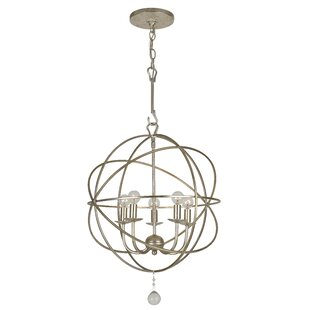 Big Save Rodrigues 5-Light Globe Chandelier By Willa Arlo Interiors