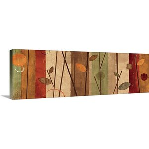'Modern Forest Natural' by Veronique Charron Graphic Art on Wrapped Canvas by Great Big Canvas