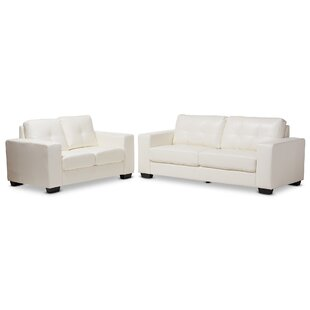 Rogich 2 Piece Living Room Set by Latitude Run®