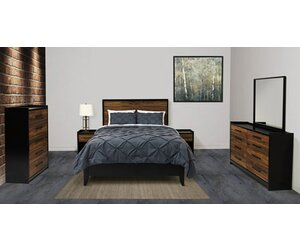 Norfolk Panel Configurable Bedroom Set