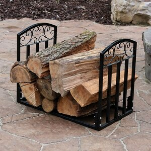 Designer Log Rack