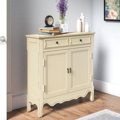 Mauzy 2 Door Accent Cabinet Lark Manor Color: Antique Ivory