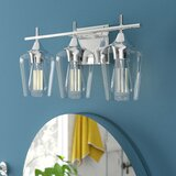 Hickerson 3-Light Dimmable Vanity Light by Mercury Row