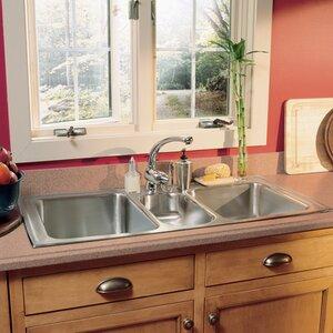 gourmet 43   x 22   kitchen sink 43 inch sink   wayfair  rh   wayfair com