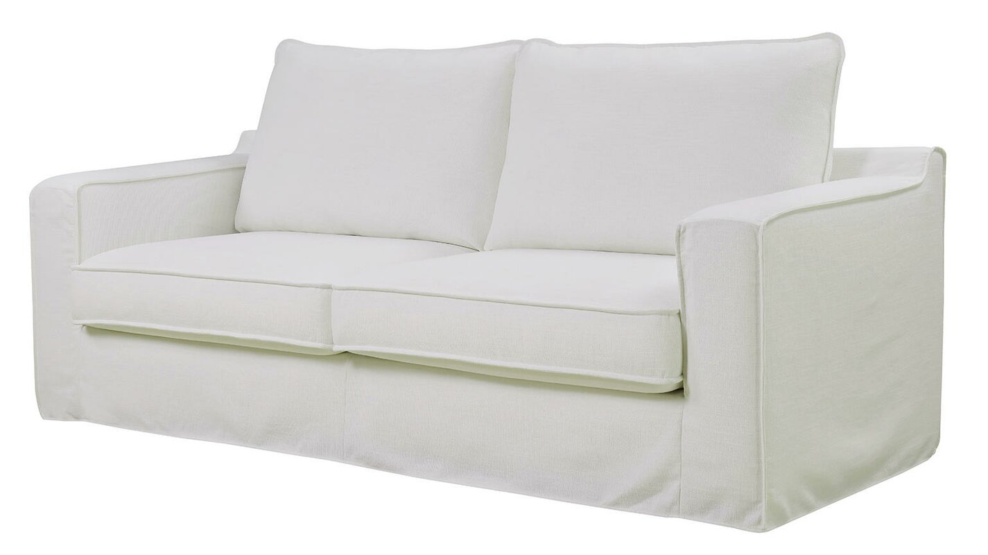 Serta At Home Colton Slipcover Sofa Reviews Wayfair ~ White Slipcovers For Sofa
