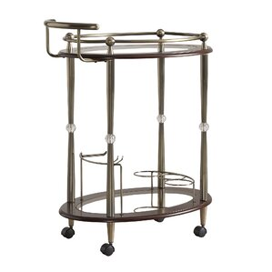 Polly Bar Cart by House of Hampton
