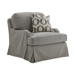 Oyster Bay Stowe Slipcover Swivel Armchair