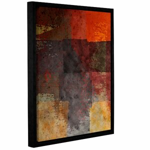 Quilted Framed Graphic Art on Wrapped Canvas by Red Barrel Studio