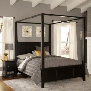Marblewood Canopy 2 Piece Bedroom Set