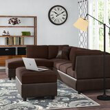 Meece Reversible Sectional with Ottoman